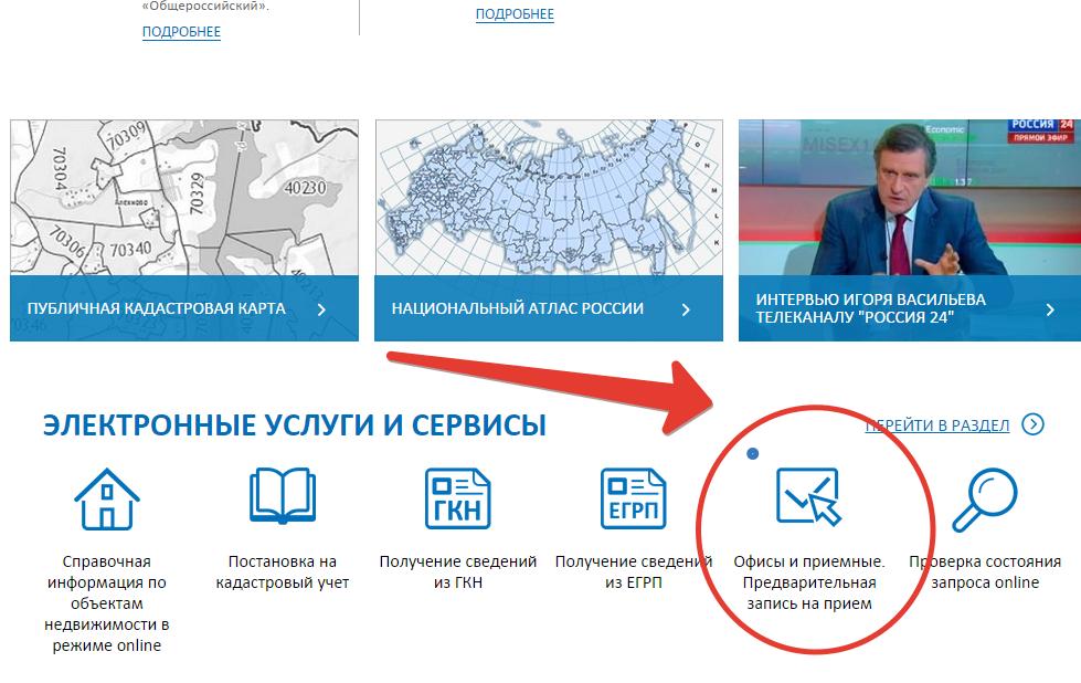 Росреестр ижевск официальный сайт предварительная запись