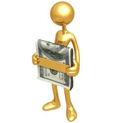 Расписка о внесении авансового платежа