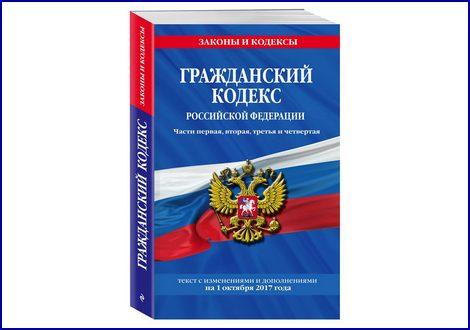Гражданский кодекс РФ в применении к сделкам с недвижимостью